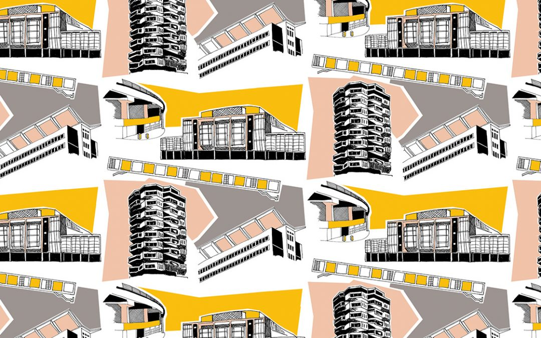 Concrete Sunshine | Croydon illustrations by Kate Marsden