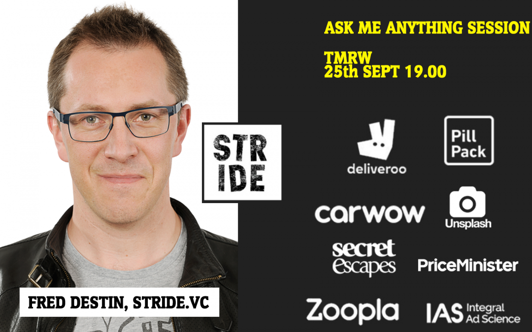 Ask Me Anything Session | Fred Destin, Strive